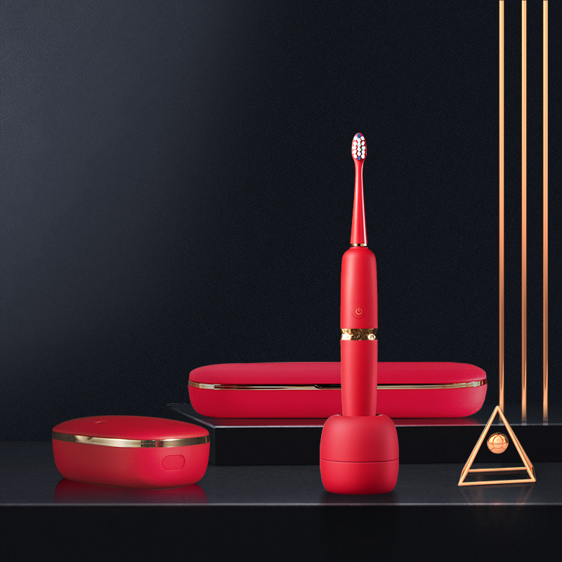 TCL XESS 光波双净智能牙刷D3(套装) 宫廷红