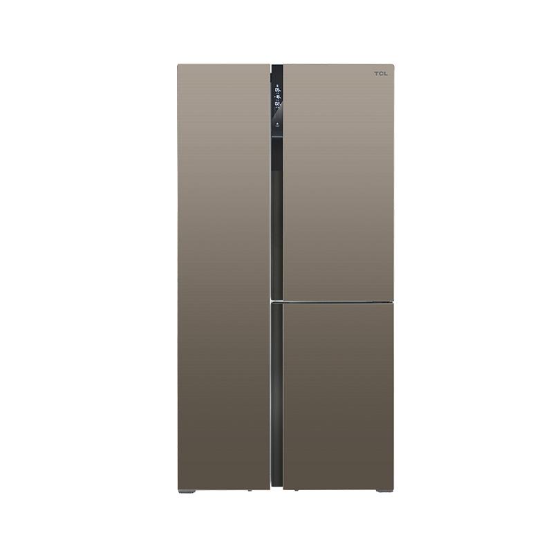 T型门风冷冰箱 443P6-T玉帛棕