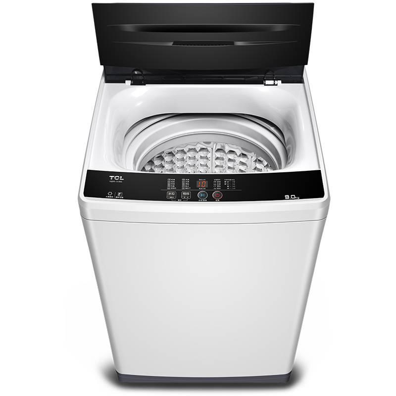 TCL XQB90-1578NS寶石黑 9公斤全自動波輪洗衣機