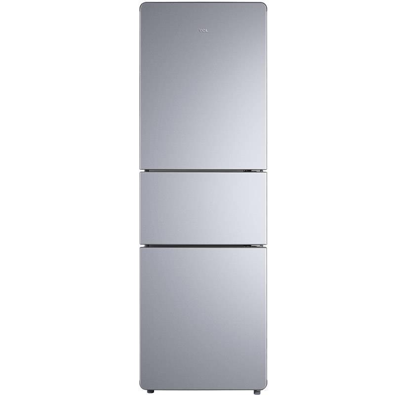 200L3-C閃白銀 200升節能養鮮<span style='color:red'>三門</span>冰箱