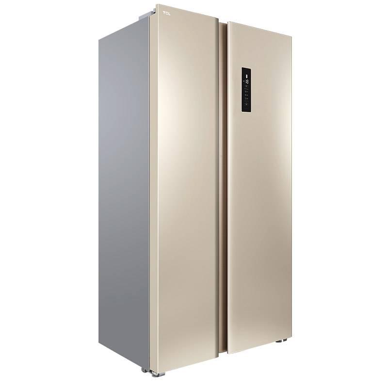 TCL BCD-520WEPZA50流光金 520升<span style='color:red'>對開門</span>/雙開門式風冷無霜變頻雙門電冰箱家用