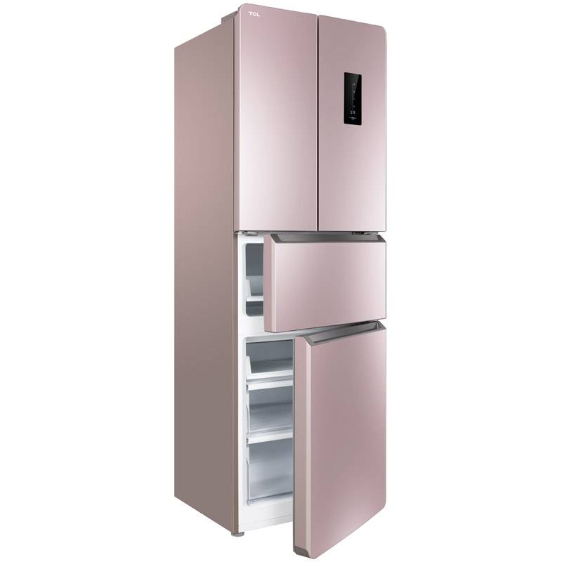 TCL BCD-285KEPR50玫瑰金 285升家用變頻節能冰箱