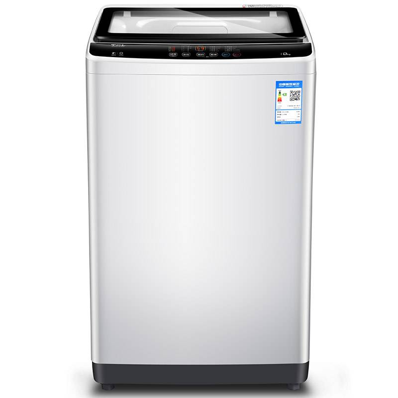 TCL XQB100-1578NS亮灰色 10公斤全自動<span style='color:red'>波輪</span>洗衣機