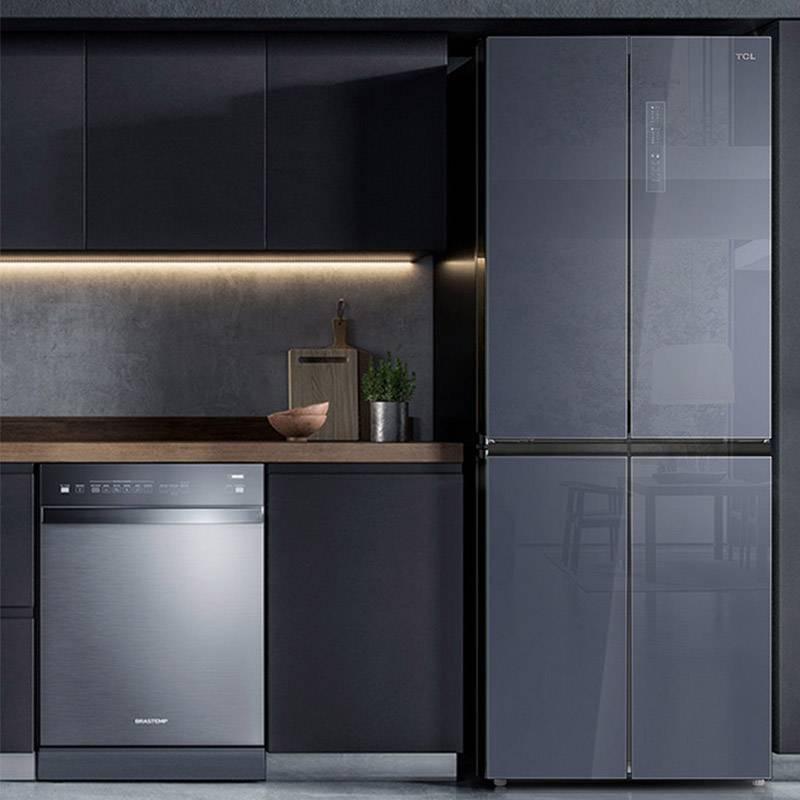 406P6-U 406升十字对开门冰箱