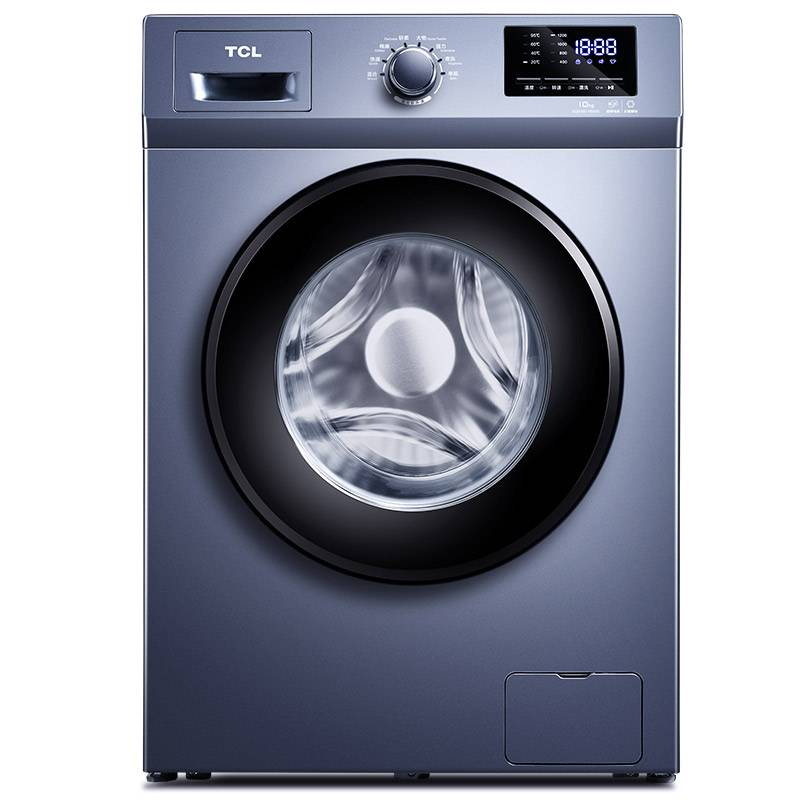 TCL XQG100-P600B星云藍 10公斤變頻全自動<span style='color:red'>滾筒</span>洗衣機