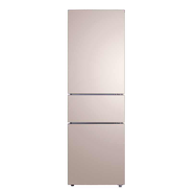 211F5-C丝蔓金 211升风冷无霜AAT负离子养鲜三门冰箱