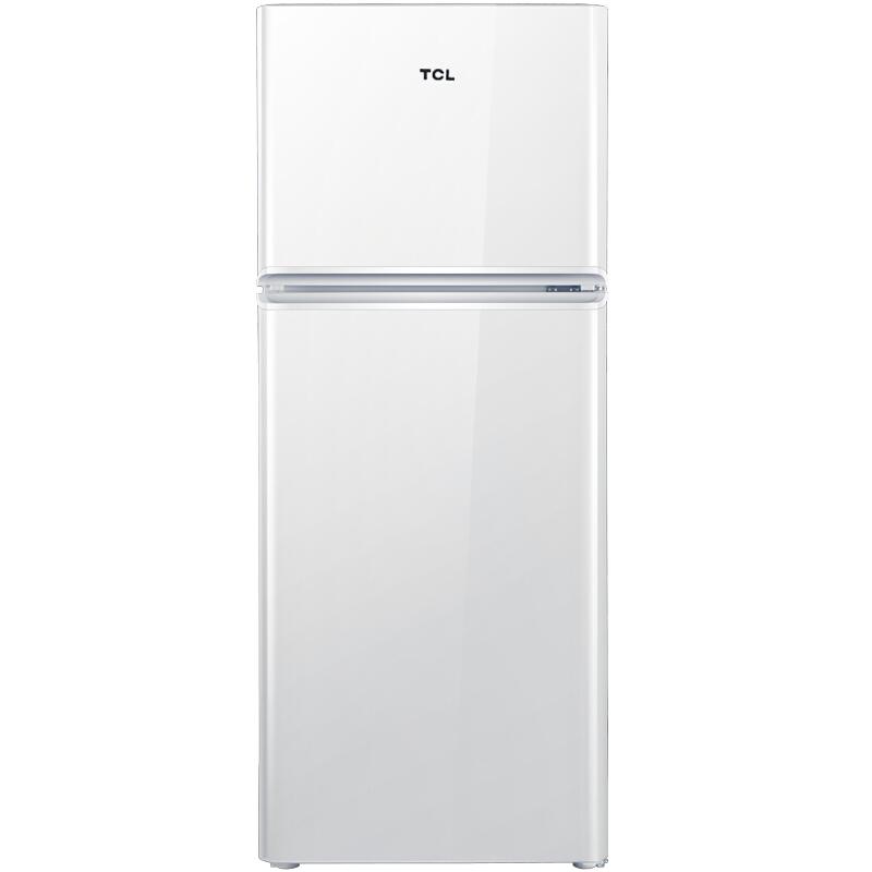 BCD-120C珍珠白 120升保鲜静音双门小冰箱