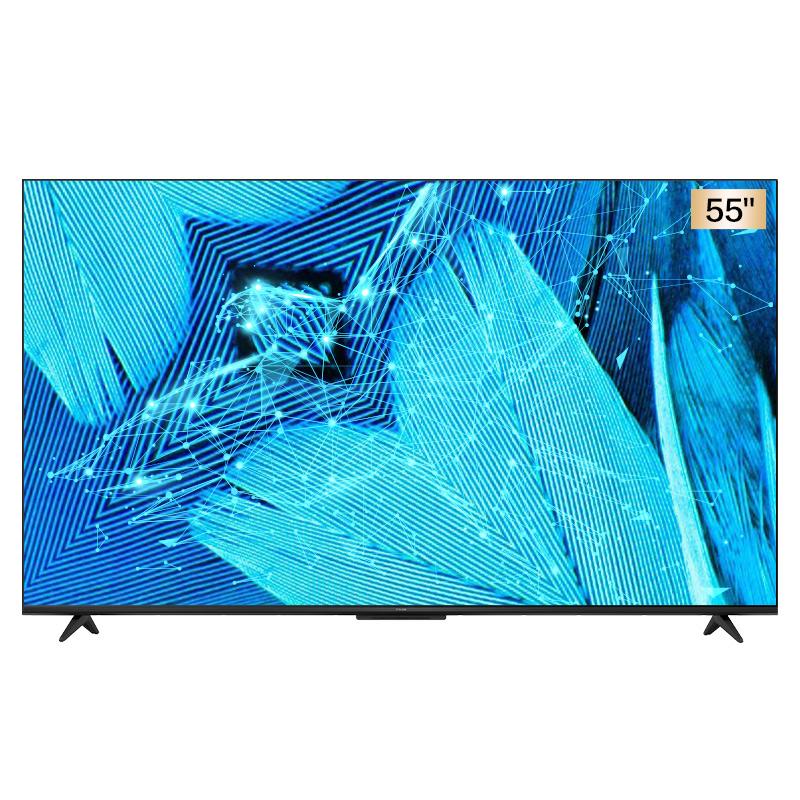 TCL雷鸟55S515C PRO 55英寸高色域全面屏 远场声控4K智能电视机