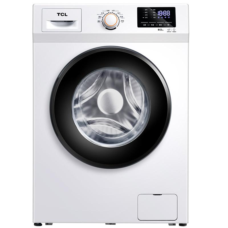 TG-V80B芭蕾白 8公斤滚筒洗衣机