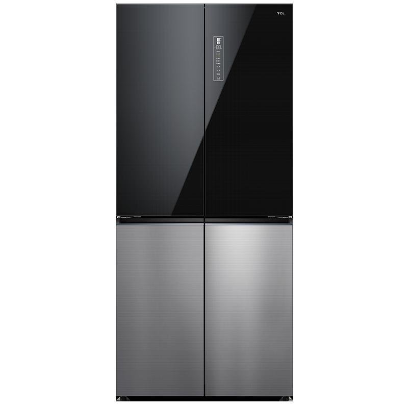 灵悉C12全套系AI家电 R510C12-U 510升十字对开急冷冰箱 极速制冷保鲜 智能恒温养鲜 蓝点魔盘快速制冷 33分贝静音